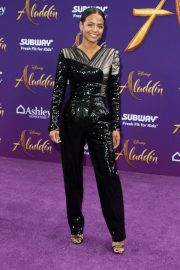 Christina Milian - 'Aladdin' Premiere in Los Angeles