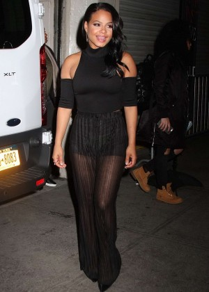 Christina Milian - AOL BUILD Series: 'Grandfathered and Turned Up' in NYC