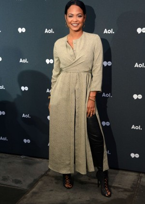 Christina Milian - AOL NewFront 2016 in New York City