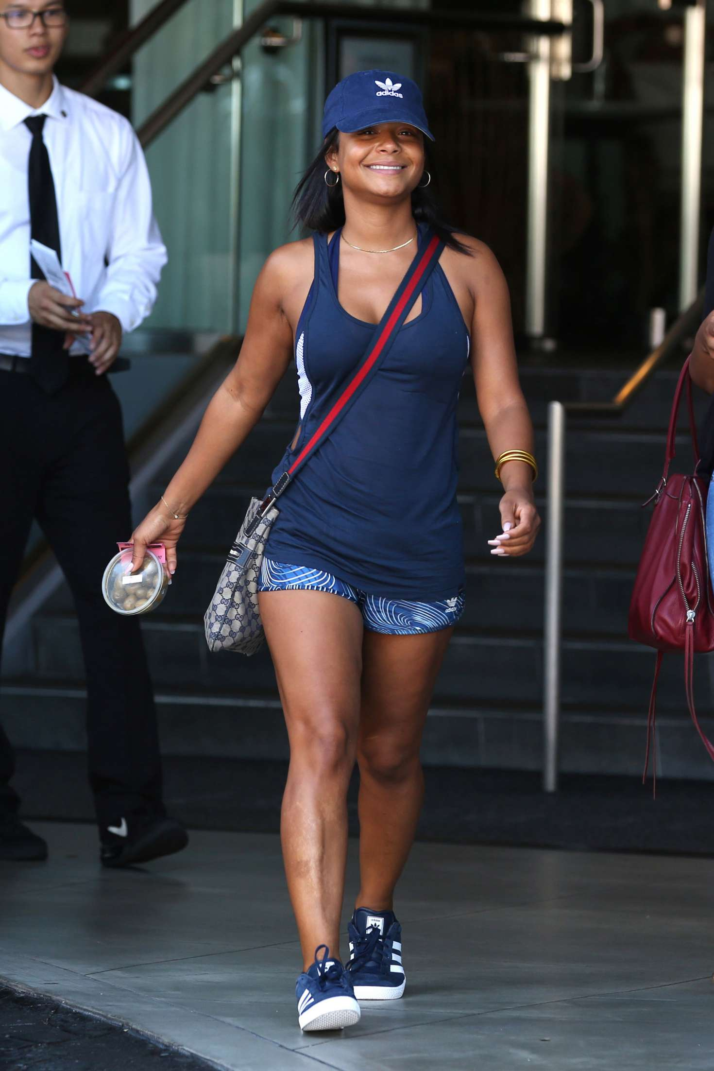 Christina Milian Arriving to the SLS Hotel Pool Party in Beverly Hills