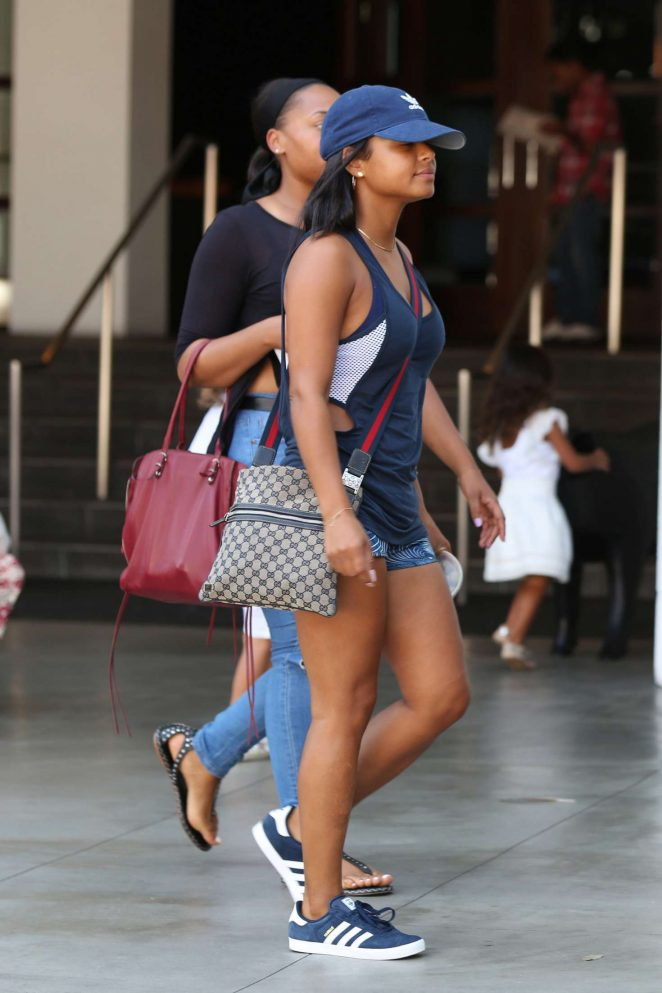 Christina milian arriving to the sls hotel pool party 10 - Beverly hills public swimming pool ...