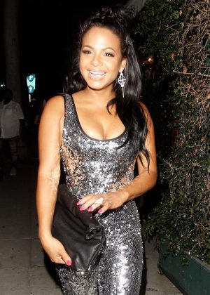 Christina Milian at MR. Chow Restaurant in Beverly Hills