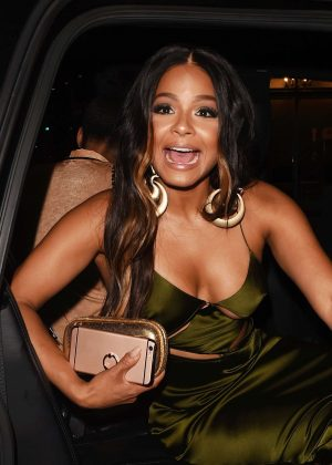 Christina Milian at The Nice Guy in West Hollywood