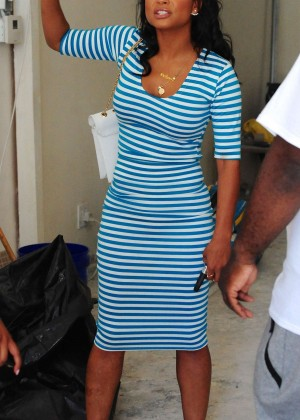 Christina Milian at We Are Pop Culture Pop Up Shop in LA