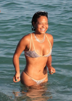 Christina Milian in Bikini -12