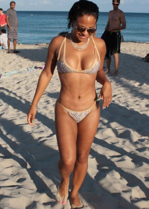 Christina Milian in Bikini -15