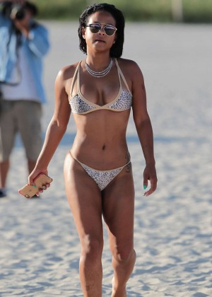 Christina Milian in Bikini -16