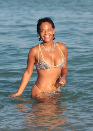 Christina Milian in Bikini -20