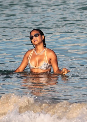 Christina Milian in Bikini -22