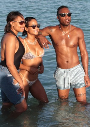 Christina Milian in Bikini -24