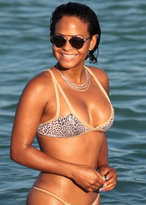 Christina Milian in Bikini -41