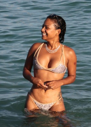 Christina Milian in Bikini -49