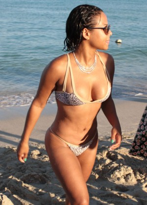 Christina Milian in Bikini -53