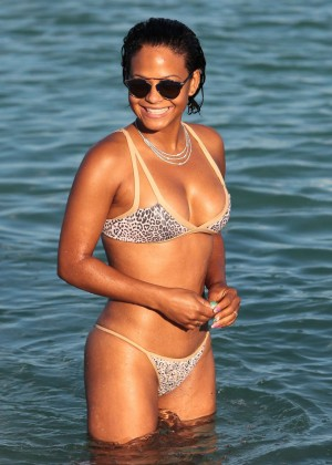 Christina Milian in Bikini -56