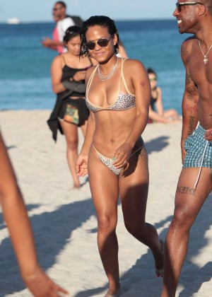 Christina Milian in Bikini -64
