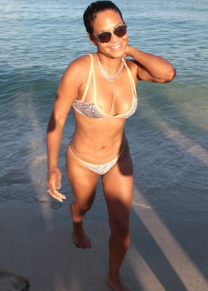 Christina Milian in Bikini -65
