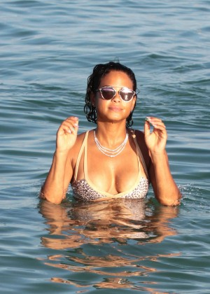 Christina Milian in Bikini -66