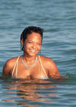 Christina Milian in Bikini -67
