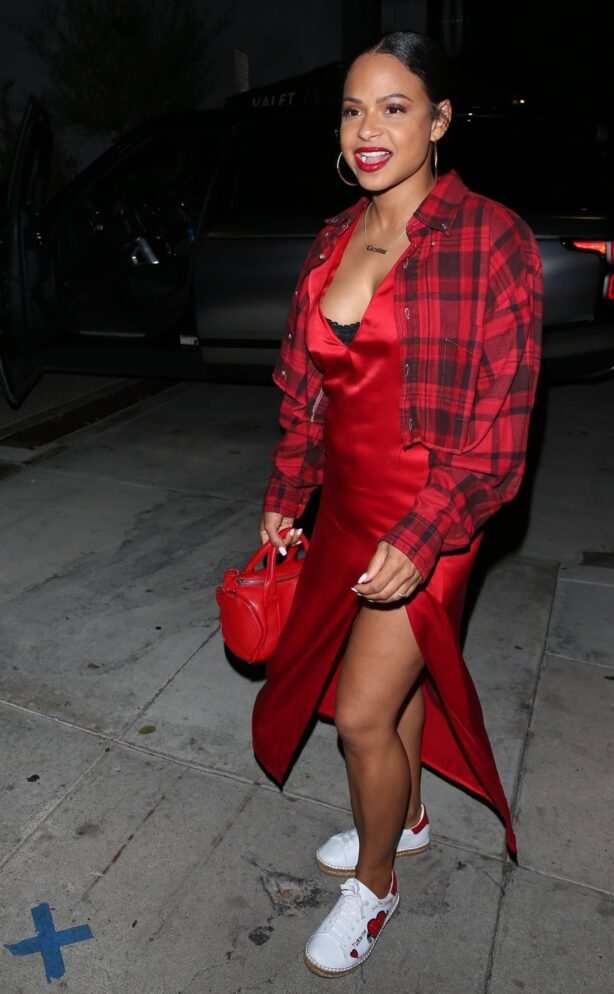 Christina Milian - birthday party at General Admission in Studio City