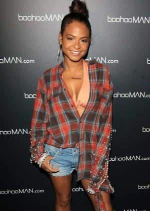 Christina Milian - Boohooman Presents Illuminate Festival in LA
