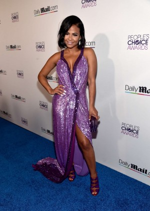 Christina Milian - Daily Mail's 2016 People's Choice Awards After Party in LA