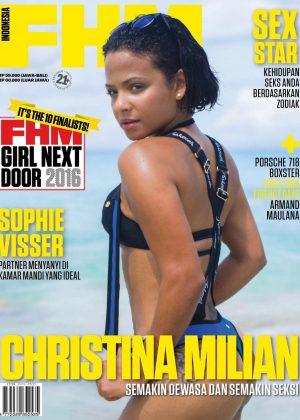 Christina Milian - FHM Indonesia Magazine (May 2016)