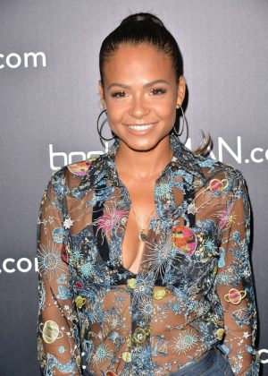 Christina Milian - French Montana's Boohooman Party in Los Angeles