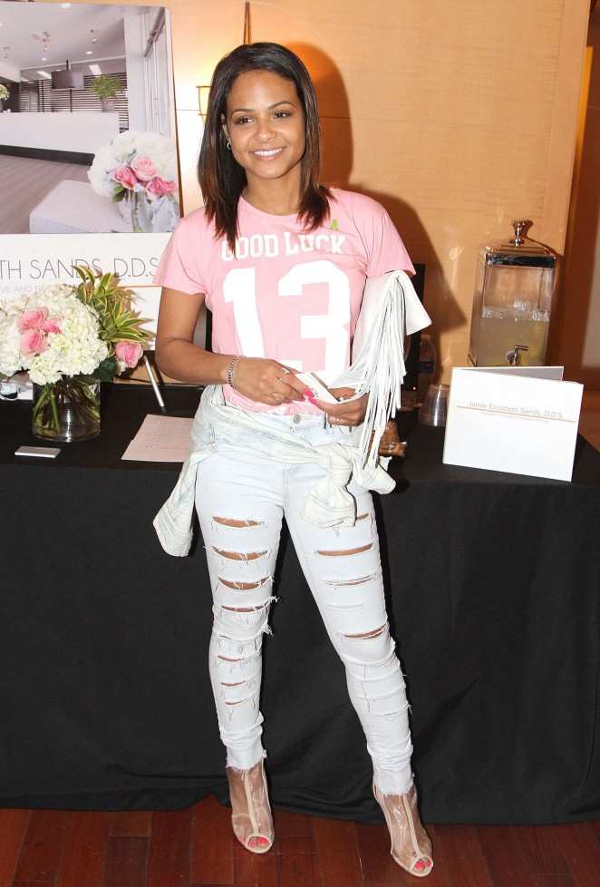 Christina Milian - GBK 2015 Pre-Oscar Awards Luxury Gift Lounge in LA