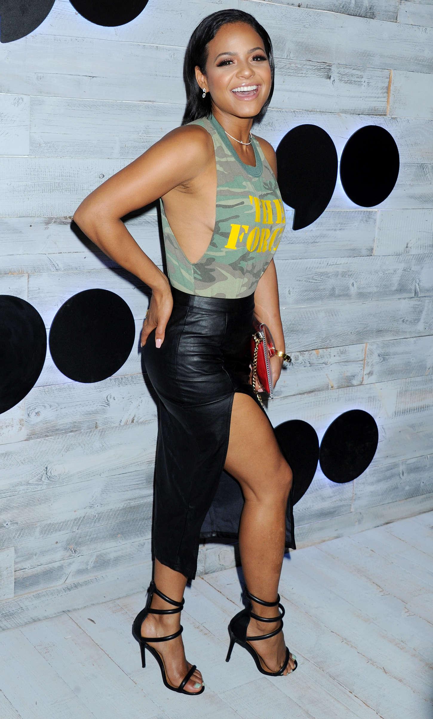 Christina Milian 2015 : Christina Milian: go90 Social Entertainment Platform Sneek Peek -10
