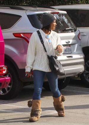 Christina Milian Goes Shopping