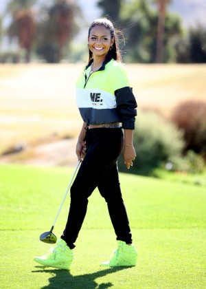 Christina Milian - Golf Course in Studio City
