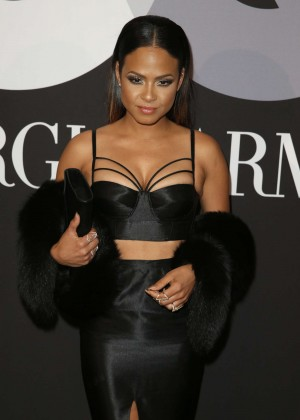 Christina Milian - GQ and Giorgio Armani Grammys After Party in Hollywood