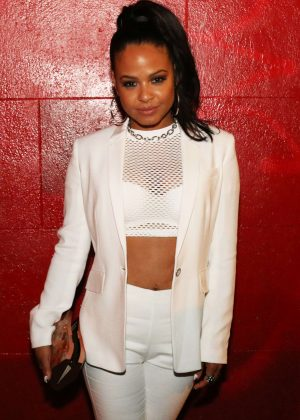 Christina Milian - GQ Style Magazine Launch Party 2016 in New York