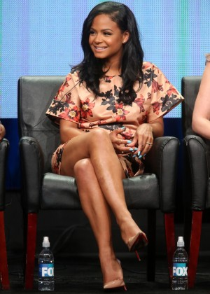 Christina Milian - 'Grandfathered' Panel 2015 Summer TCA Tour in Beverly Hills