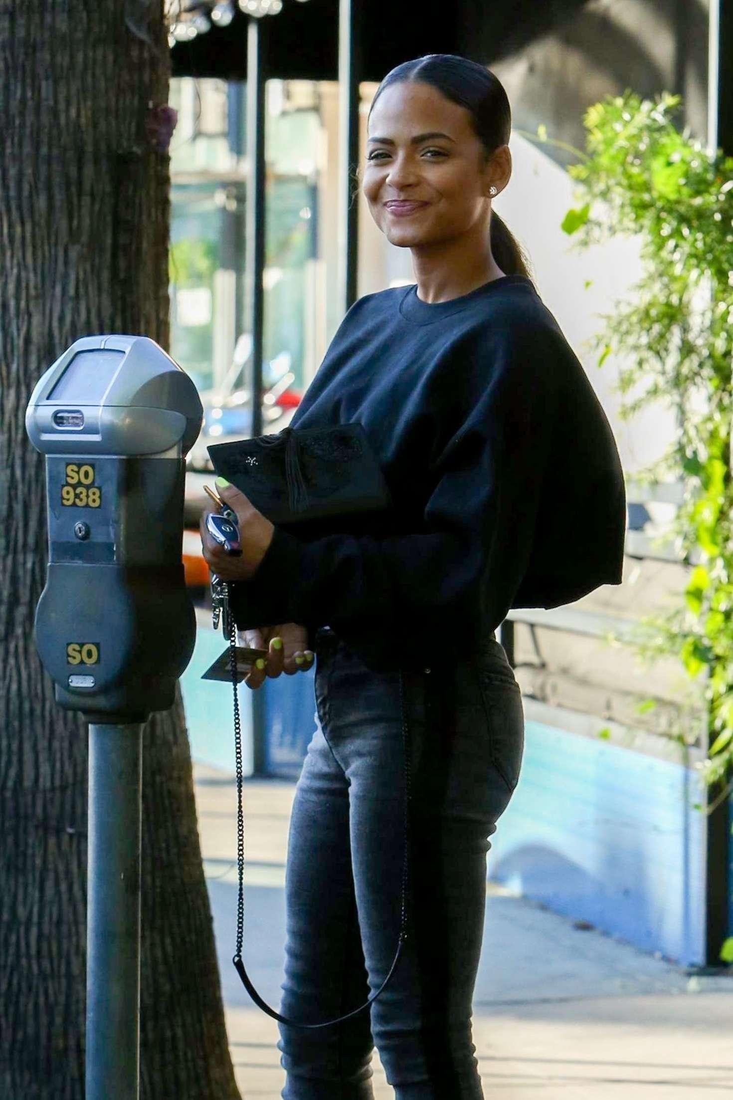 Christina Milian 2018 : Christina Milian: Heading to a skin clinic -09