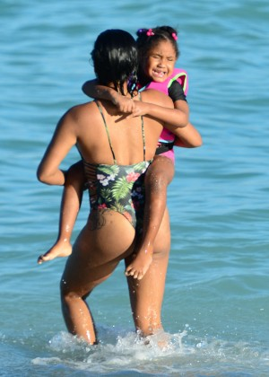 Christina Milian in bikini at Miami Beach-07