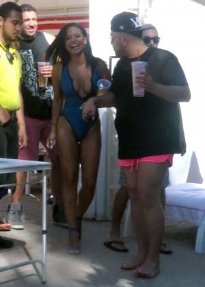 Christina Milian in Swimsuit -31