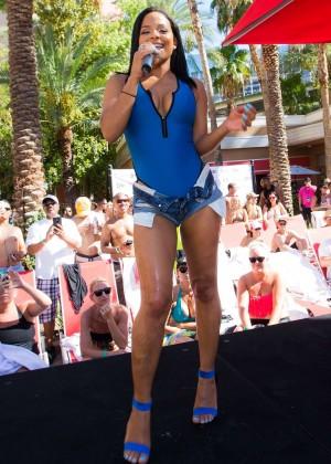 Christina Milian in Swimsuit -46