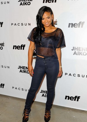 Christina Milian - Jhene Aiko's Soul of Summer Evening With Hennessy V.S in LA