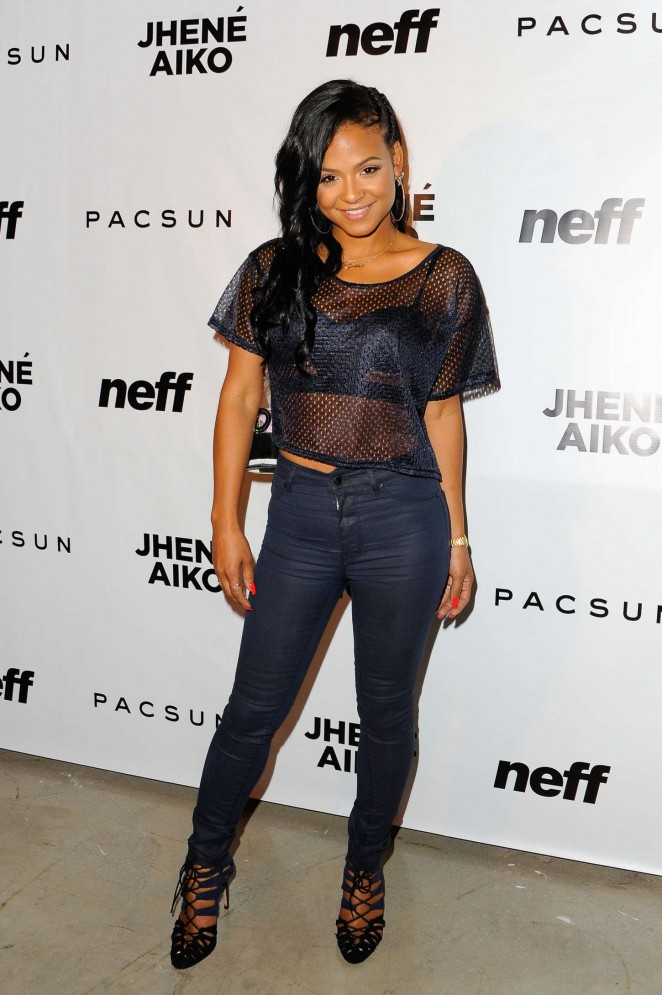 Christina Milian – Jhene Aiko's Soul of Summer Evening With Hennessy V.S in LA