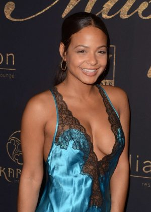 Christina Milian - Karma International's 9th Annual 'Karma Masquerade' in Los Angeles