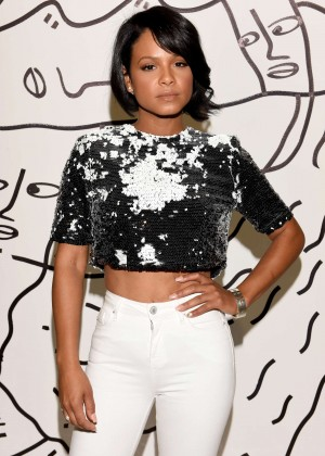 Christina Milian - Kye Spring 2016 Fashion Show in NYC
