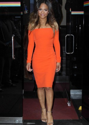 Christina Milian - Leaves 'The Wendy Williams Show' in NYC