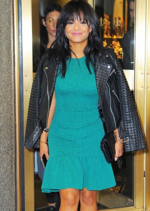 Christina Milian - Leaving The NBC Studios in NYC