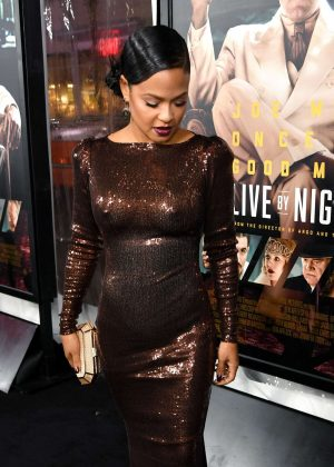 Christina Milian - 'Live By Night' Premiere in Los Angeles