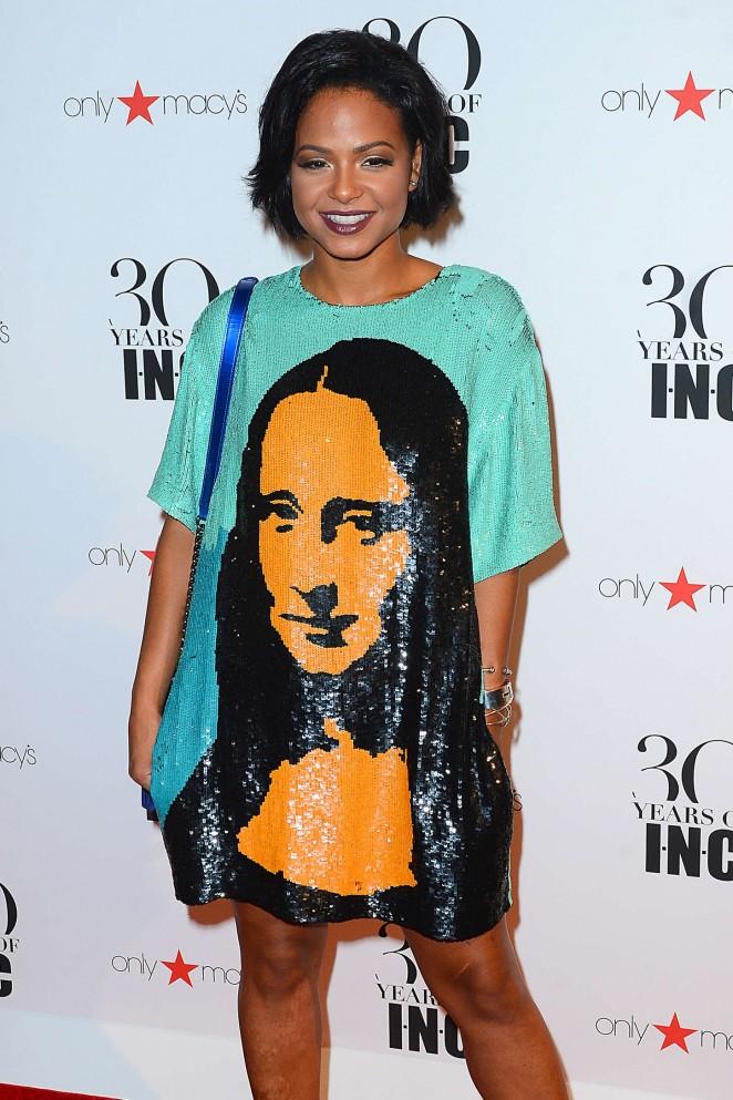 Christina Milian - Macy's Celebrates 30 years of INC International Concepts in NY