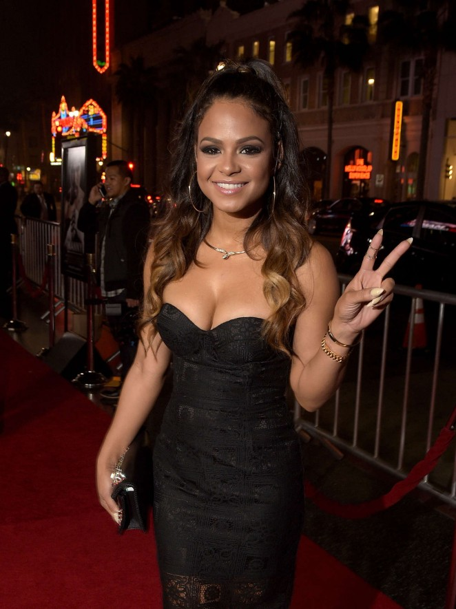 "Christina Milian - ""Manny"" Premiere in Hollywood"