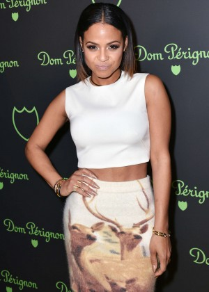 Christina Milian - NBA All-Star After Party Lights Out in NYC