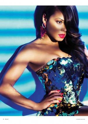 Christina Milian - Ohlala Bahrain Magazine (May 2015)