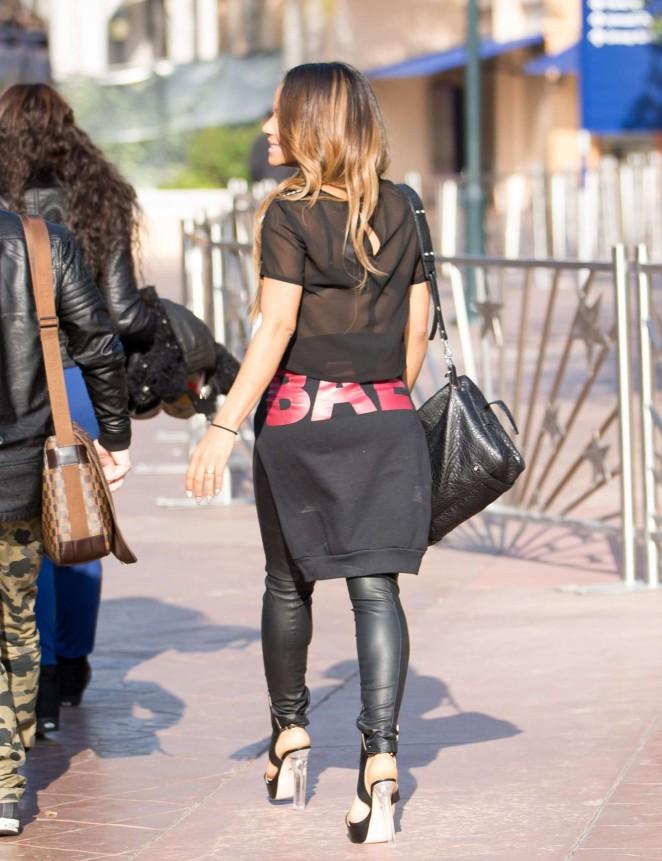 Christina Milian 2015 : Christina Milian on Extra -56